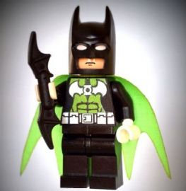 Batman as Green Lantern - Custom Designed Minifigure